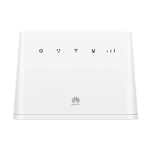 Huawei B311 4G LTE Router 2 (Cat.4, 4G LTE bis zu 150 Mbit/s(Download), 50 Mbit/s(Upload), WiFi 300Mbps, 1x Gigabit LAN, 1x TEL) Weiß