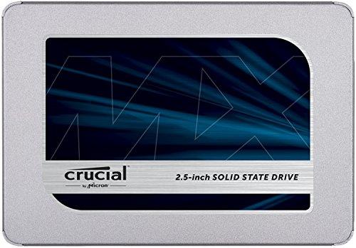 Crucial MX500 2TB CT2000MX500SSD1-bis zu 560 MB/s (3D NAND, SATA, 2,5 Zoll, Internal SSD)