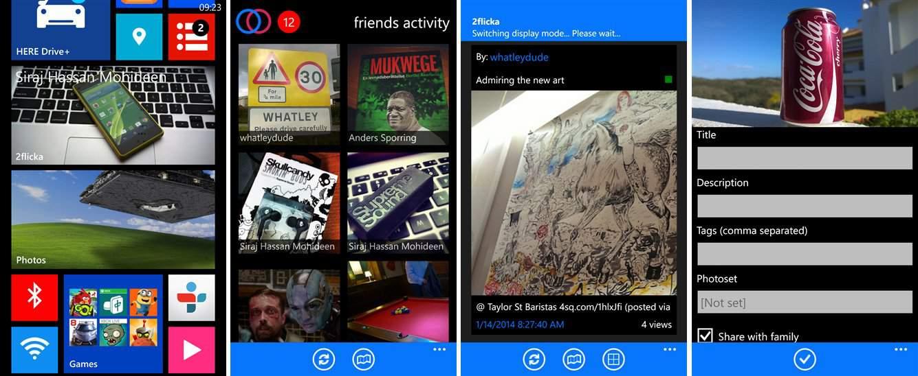 Windows Phone: 2Flicka kostenlos