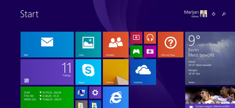 Keine Updates ohne Windows 8.1 Update!