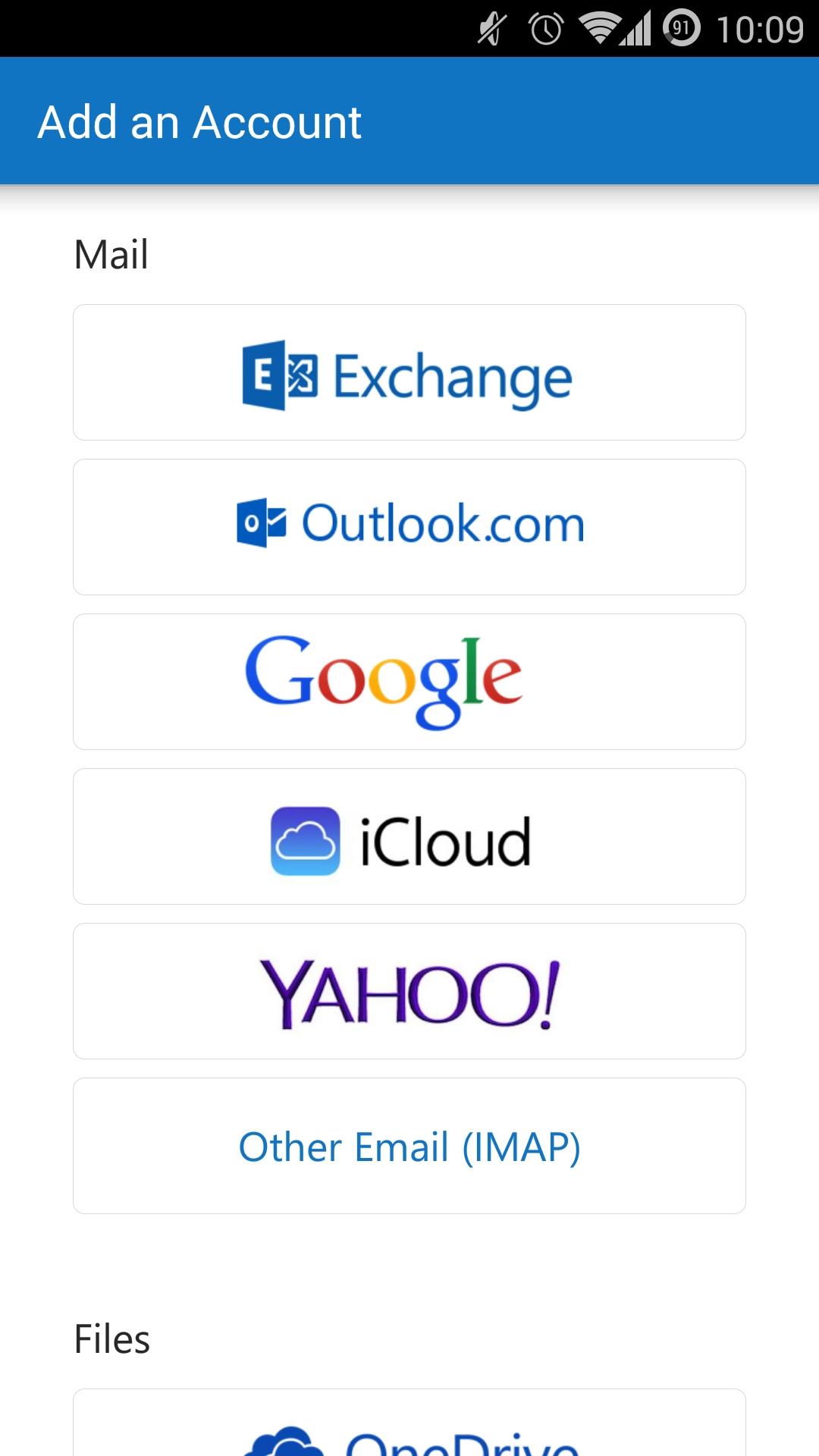 Outlook-Konten