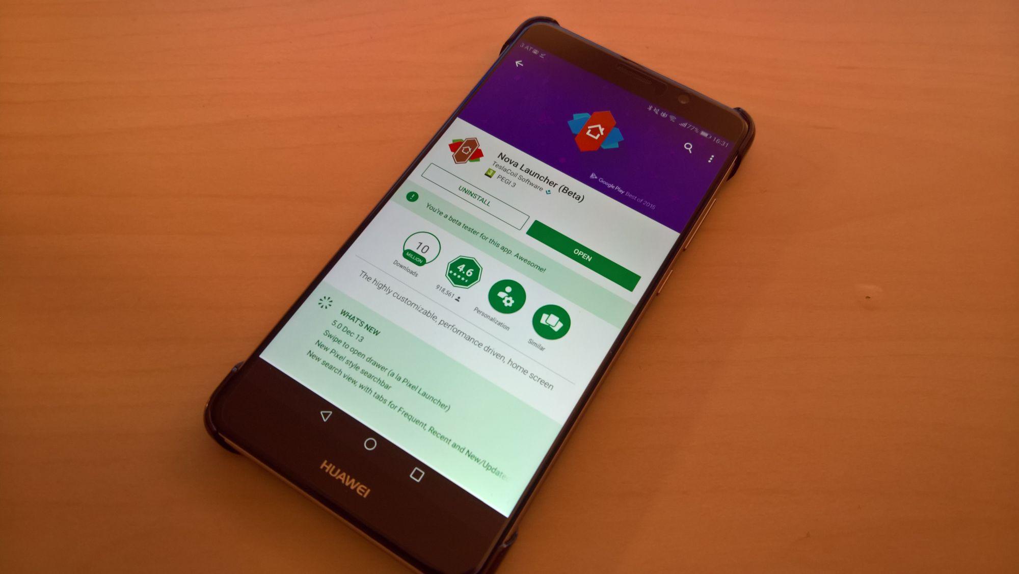 HowTo: Nova Launcher als Standard-Launcher auf einem HUAWEI Smartphone